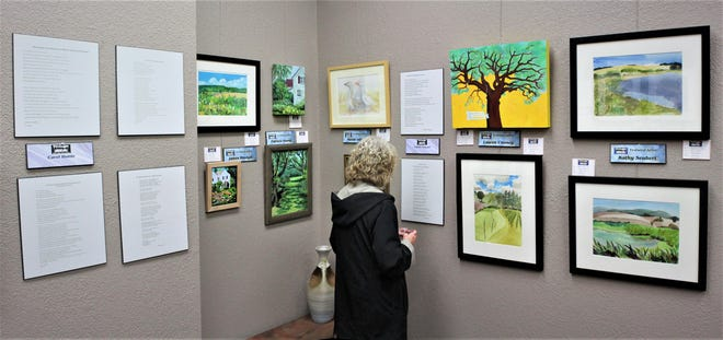 The Elsinore Framing & Fine Art Gallery in downtown Salem is hosting Paint the Town/Write the Town Sept. 5-28.