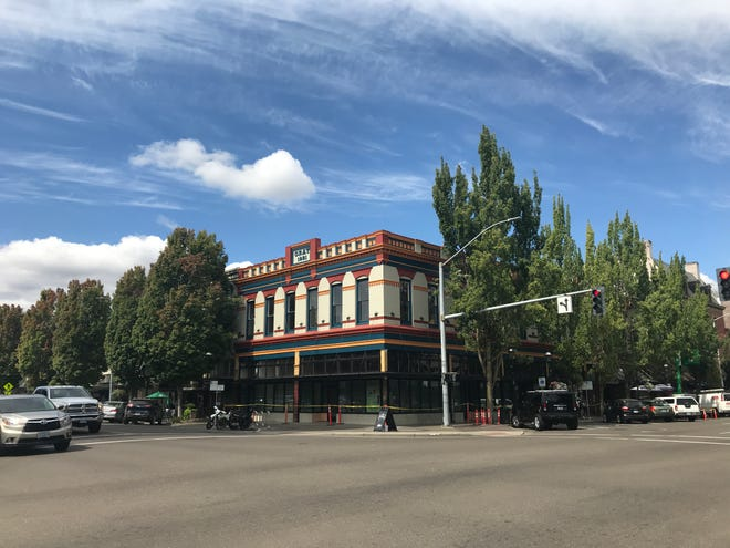Renovation work at 105 Liberty St. NE in Salem, Oregon, on Aug. 30, 2018.