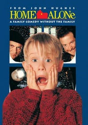 """Wednesday Film Series — """"Home Alone"""":Accidently left home by his family during Christmas vacation, eight-year-old troublemaker Kevin McCallister must protect his house from a pair of burglars, ratedPG,7 p.m. Dec. 12,Elsinore Theatre, 170 High St. SE.$6. 503-375-3574 orwww.elsinoretheatre.com."""