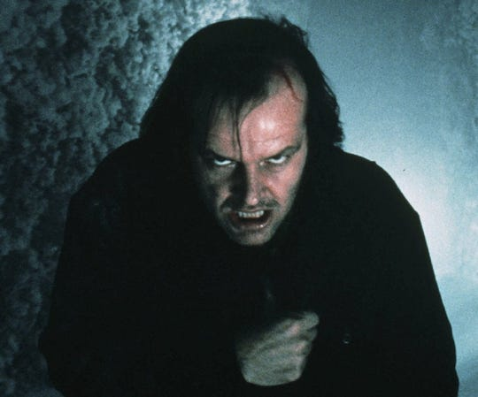 "-  -Jack Nicholson stars in the film ""The Shining."" (Gannett New Service/Warner Bros.)"