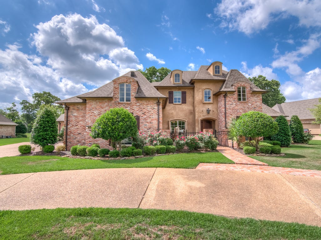 600 Enchanted Lane,   Bossier City  Price: $645,000  Details: 4 bedrooms, 4 bathrooms, 4,342 square feet  Special features: Stonebridge charmer on the golf course, remote master suite, brick accent walls and relaxing media room.  Contact: Nancy Harner,   218-3611
