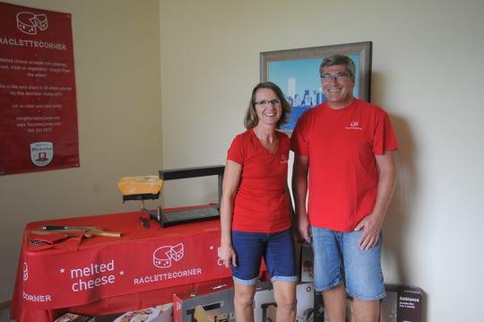 Sonja and Marc Hoffman, owners of Raclette Corner.