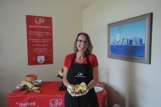 Sonja Hoffman, owner of Raclette Corner, will be serving up traditional plates of raclette cheese at Germanfest on Sept. 8 in downtown Sioux Falls.