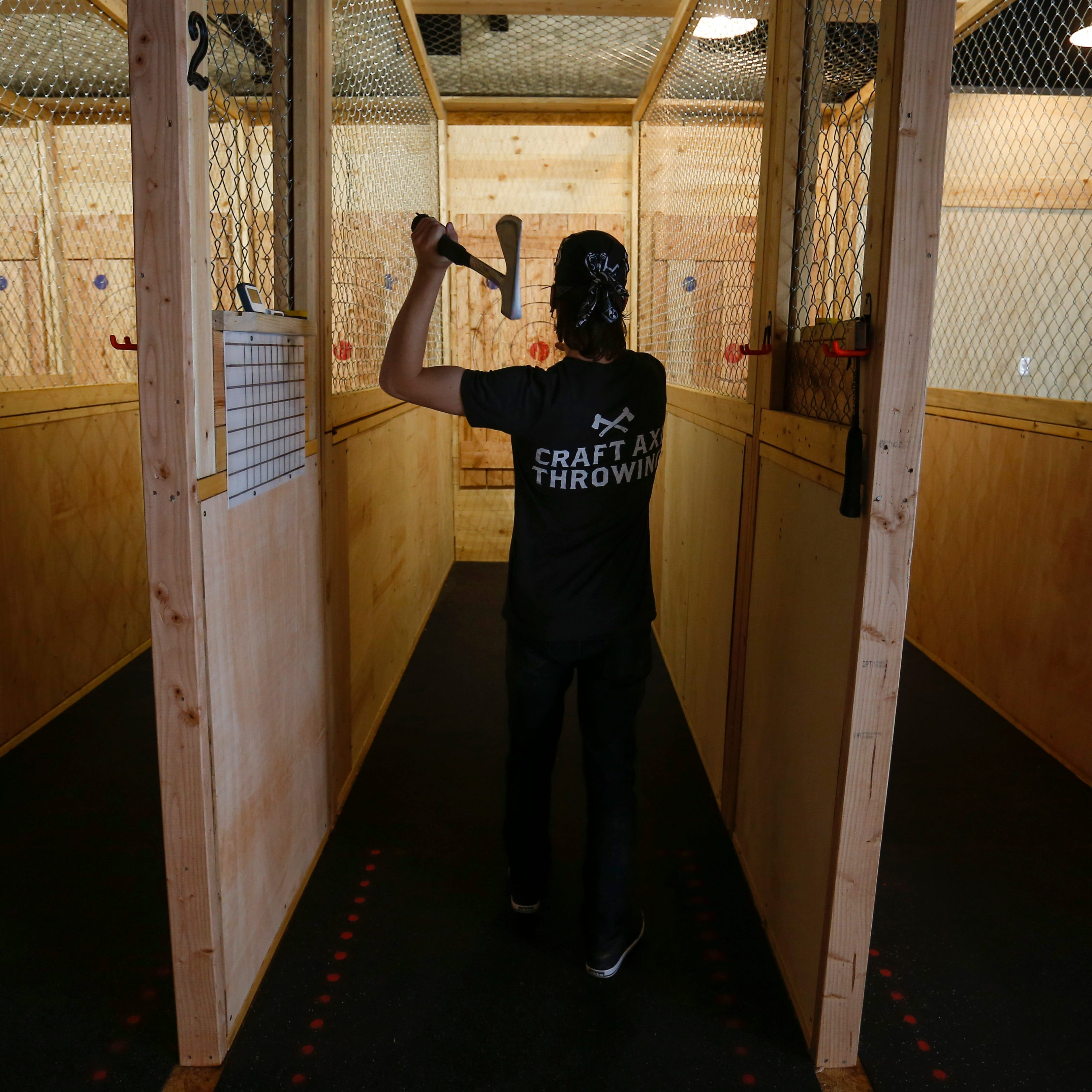 Auburn Hills Hub Stadium's ax throwing poses 'significant concern'
