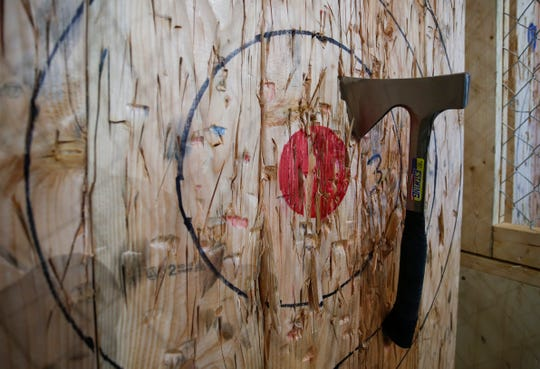 Craft Axe Throwing, Springfield's second ax-throwing business, is at 431 S. Jefferson Ave. in downtown Springfield. The facility features 10 throwing lanes and a bar that will serve craft beer.