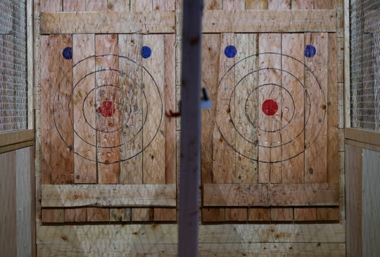 Craft Axe Throwing, Springfield's second ax-throwing business, opened in Springfield this week at 431 S. Jefferson Ave. in downtown Springfield. The facility features 10 throwing lanes and a bar that will serve craft beer.