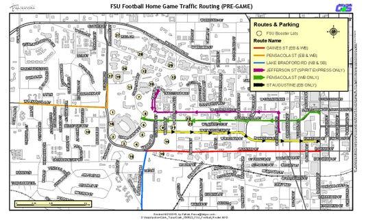 Fsu Football Routes Pregame