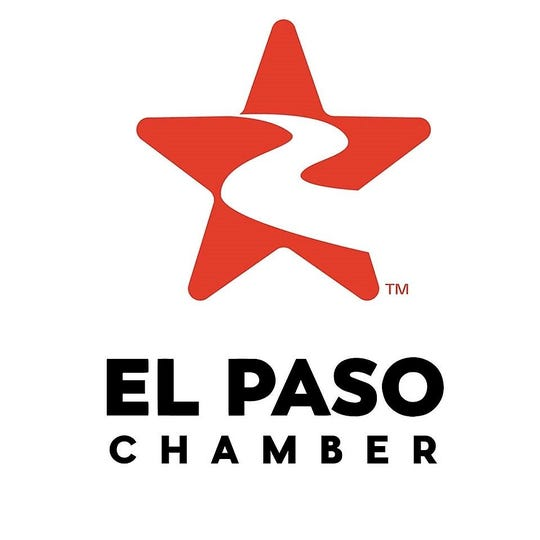 The new logo for the renamed El Paso Chamber, formerly the Greater El Paso Chamber of Commerce.