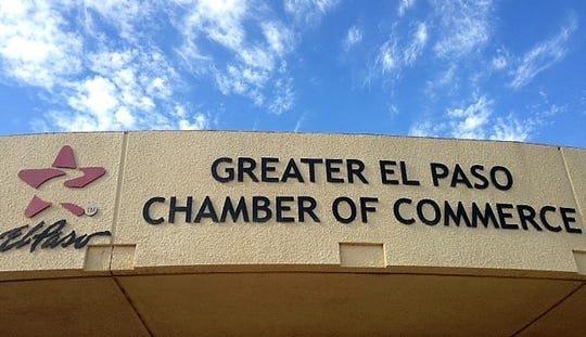 The El Paso Chamber's old name and logo eventually will be changed on the front of the business group's Downtown offices.