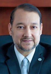 El Paso Community College President  William Serrata, new member of the Dallas Fed's El Paso branch board of directors.
