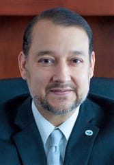 El Paso Community College President  William Serrata, new member of the Dallas Fed's El Paso branch board of directors.