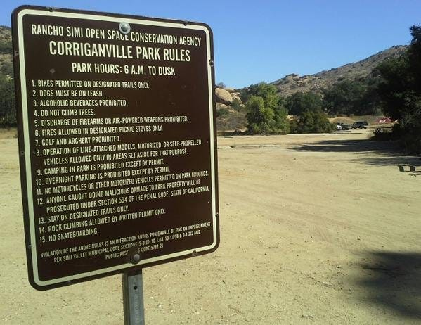 Corriganville Park is in Simi Valley.