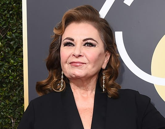 Ap Tv Roseanne Barr A Ent File Usa Ca