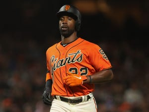 Andrew McCutchen hit .255 with 15 homers in 130 games for the Giants.