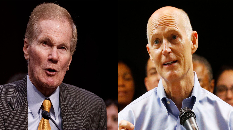 Florida Senate race: Rick Scott, Bill Nelson face off in epic matchup