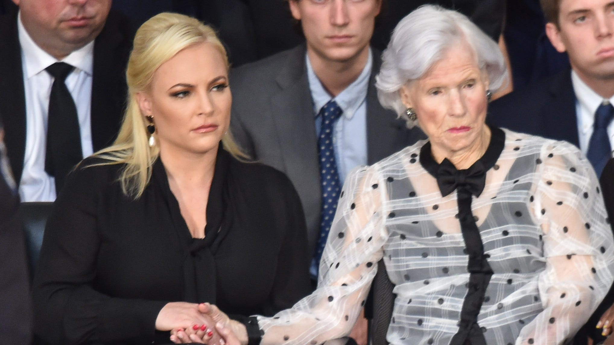 Meghan McCain makes emotional return to 'The Perceive' following dad John McCain's loss of life thumbnail