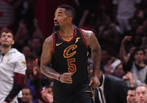 J.R. Smith is facing a misdemeanor charge of criminal mischief.