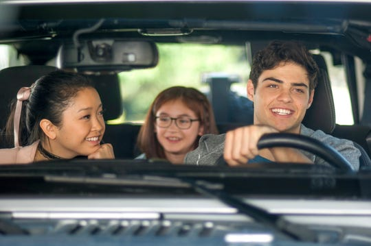 """Noah Centineo, right, plays the romantic Peter Kavinsky in """"To All the Boys I've Loved Before."""""""