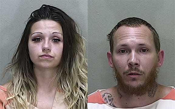 A Florida couple was arrested for allegedly selling drugs from their mobile home kitchen window, police say