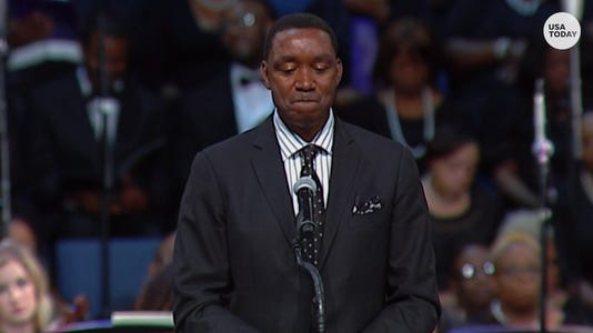 VIDEO THUMB - Isiah Thomas Aretha Franklin funeral