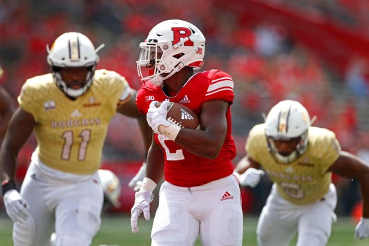 Ncaa Football Texas State At Rutgers