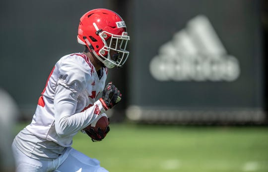 Mater Dei alum Eddie Lewis appears to be Rutgers' third wide receiver as a freshman.