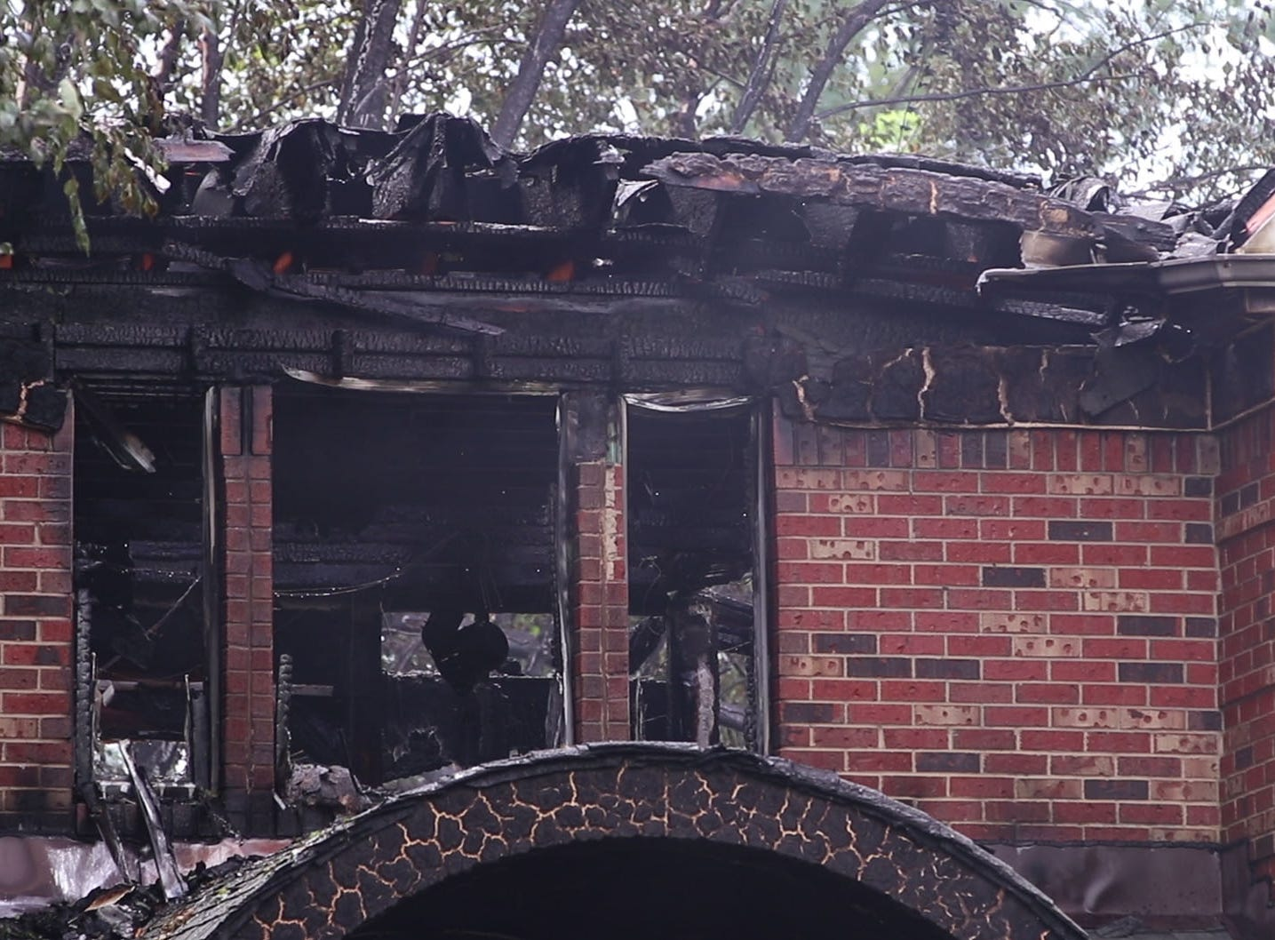 A home located at 6 Barrister Drive in Holmdel suffered severe damage after a fire broke out early morning on the back deck and quickly engulfed the structure.Holmdel, NJSaturday, September 1, 2018