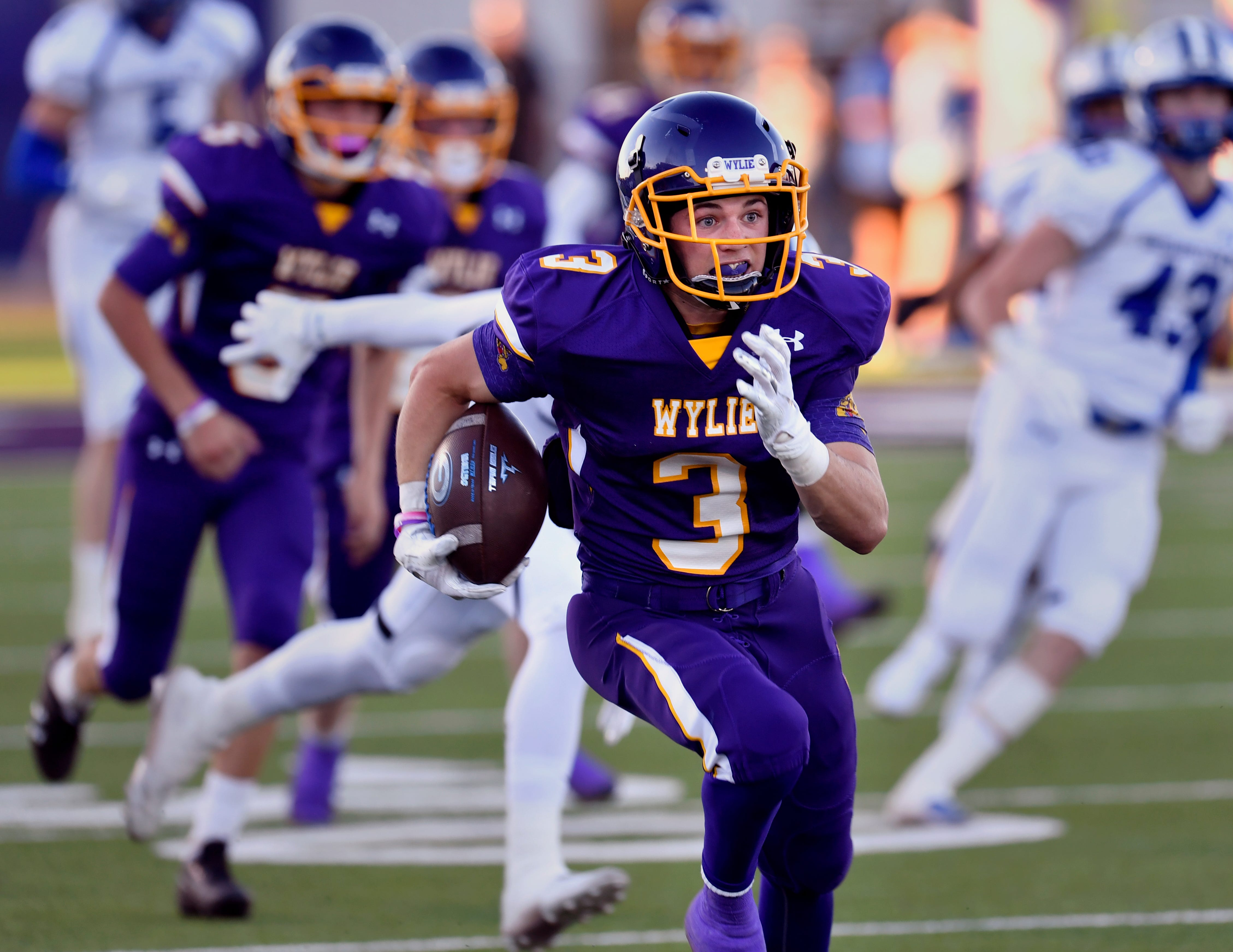 Jaden Speegle's 97-yard kickoff return for a touchdown was Wylie's lone bright spot in its season-opening loss to Georgetown. The Bulldogs are now 0-4 heading to Brownwood on Friday.