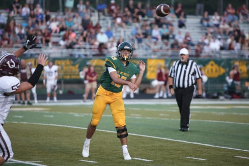 Reynolds' Alex Flinn will duel against Erwin's Kendrick Weaver this week.