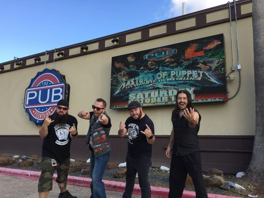 Metallica tribute band Master of Puppets play Sept. 8 at The Point Casino in Kingston.