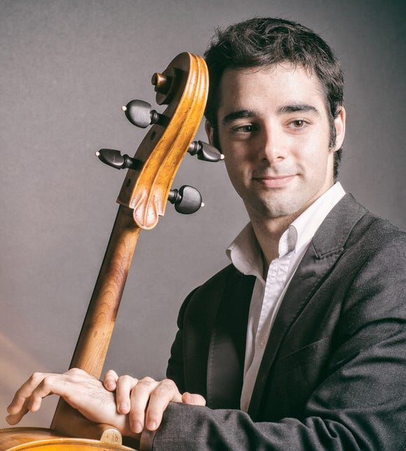 Cellist Pablo Fernandez is in recital with pianist Julio Elizalde Sept. 8 and 9 at the Olympic Music Festival at Fort Worden State Park.