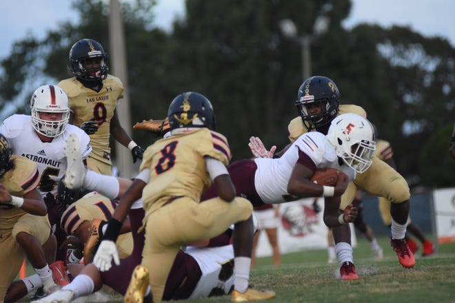Both Astronaut and Eau Gallie made dramatic moves in this week's FHSAA football power rankings.