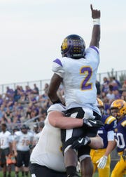 Unioto defeated McClain High School 34-6 Friday afternoon in Greenfield, Ohio.