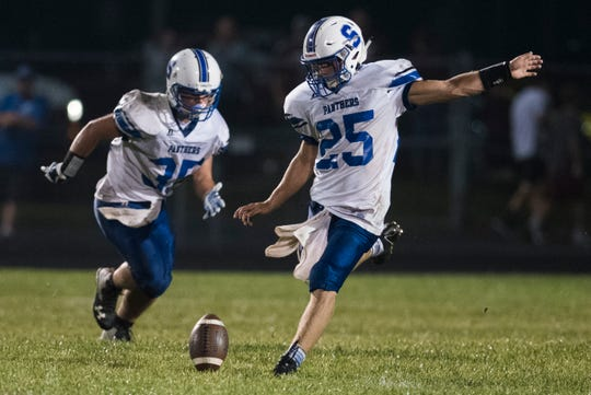 Vinton County defeated Southeastern 21-20 at Vinton County High school on Friday, August 31.