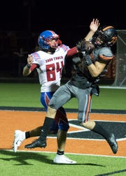 Waverly's Easton Wolf announced his commitment to play college football at Southern Illinois University this weekend.