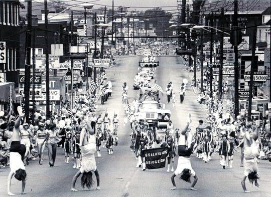 For some, Cheviot is considered Western Hills. Here is the 1978 Harvest Home Parade featuring students from St. Aloysius School in Bridgetown walks the Harvest Home Parade Route in 1978