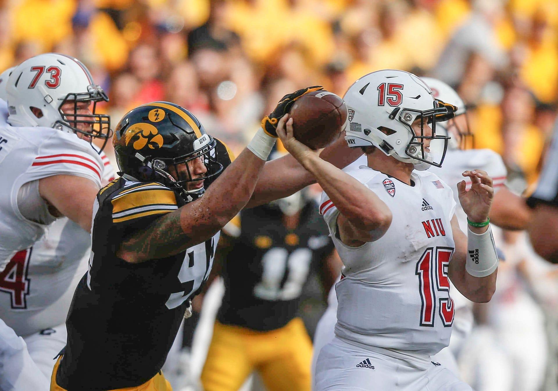 Photos: Iowa vs  Northern Illinois football