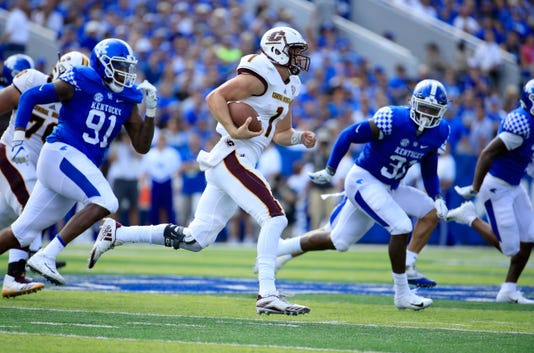 Central michigan stumbles at kentucky more local games for Central motors lexington ky