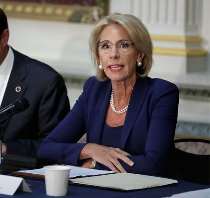 White House Administration Officials Hosts Federal Commission On School Safety