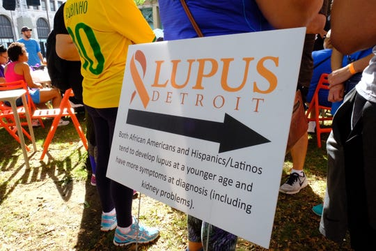 Both African-Americans and Hispanics tend to develop lupus at a younger age, research shows.