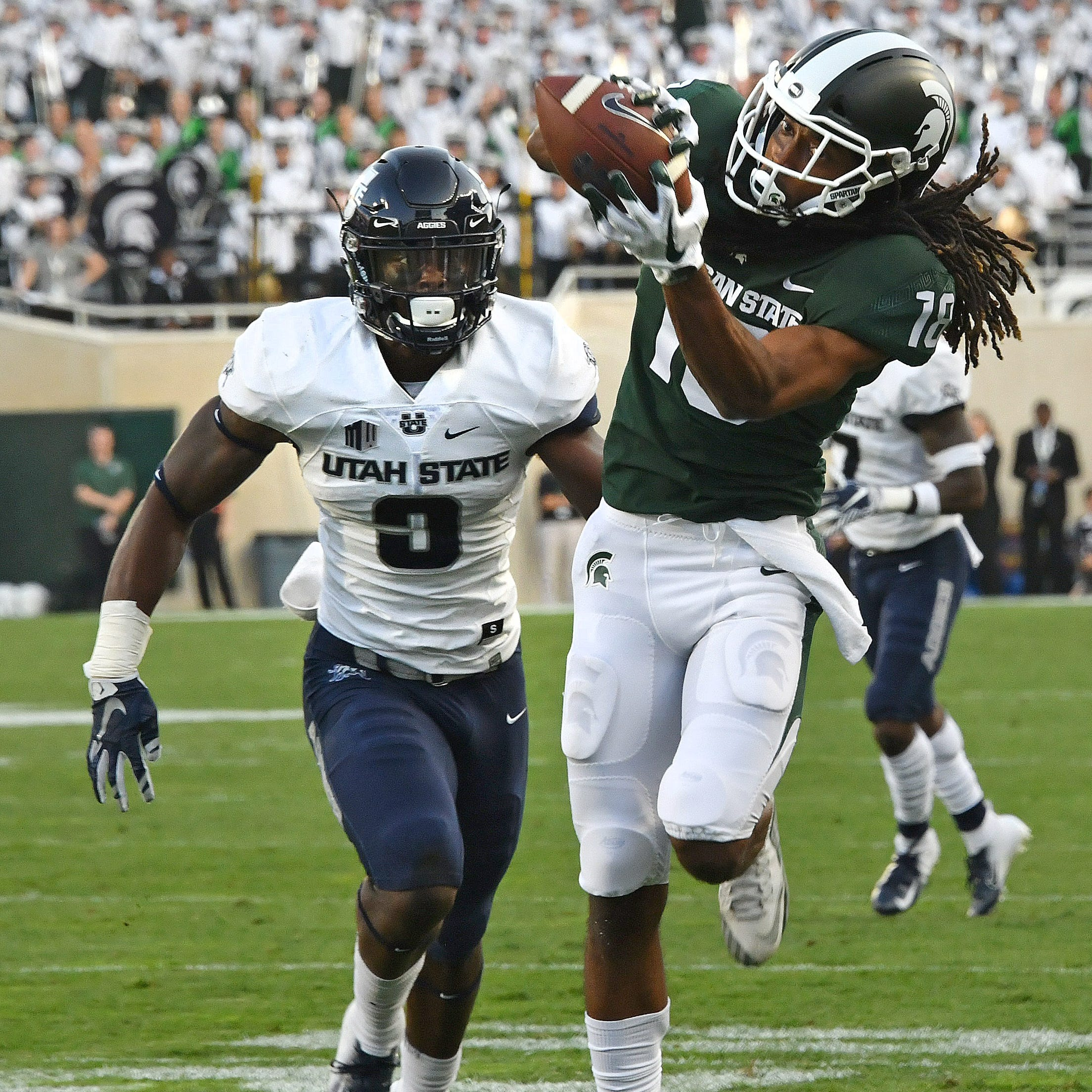 Michigan State sees Big Ten opener as chance for relaunch