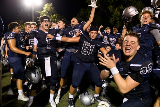 Reitz celebrates its 700th victory in school history.