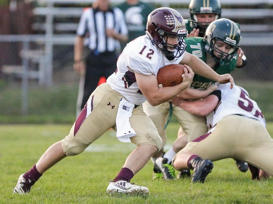 Omro High School senior Jacob Kafer produced an over-1,000-yard rushing season with 194 carries for 1,505 yards and 22 touchdowns.