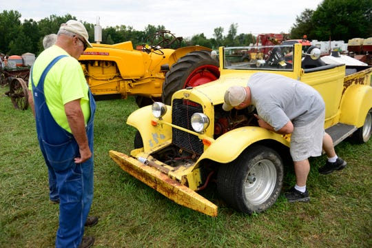 The 30th annual Sandusky County Restorers of Antique Power show was held in Gibsonburg. S.C.R.A.P. members are interested in the preservation and exhibition of antique classic gas engines and related items.