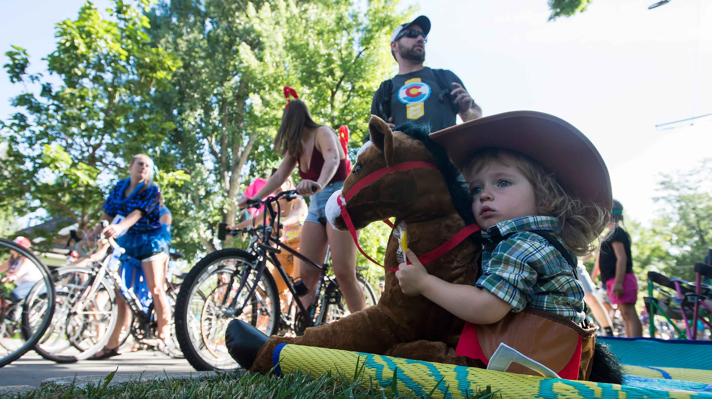 Fort Collins Tour de Fat: Check out costumes, the scene and a pretty amusing emergency radio conversation
