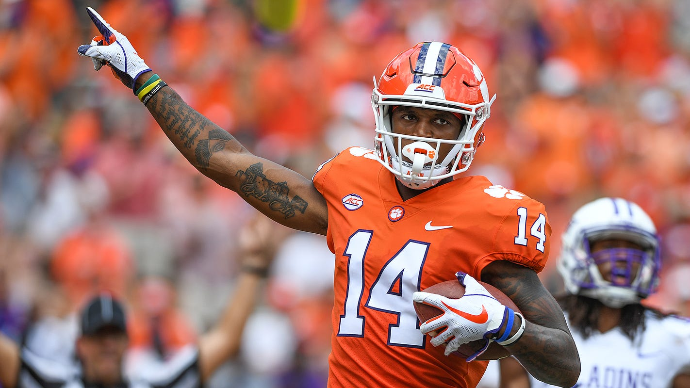 3 things you may not know about Clemson football's Diondre Overton