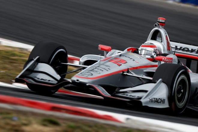 Will Power delivered the second fastest lap time during Friday's Verizon IndyCar Series practice session at Portland International Raceway.
