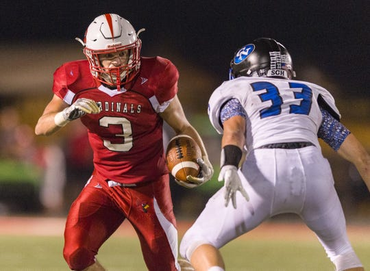 Southport junior Ryan Lezon (3) had a big night against Columbus North on Friday.