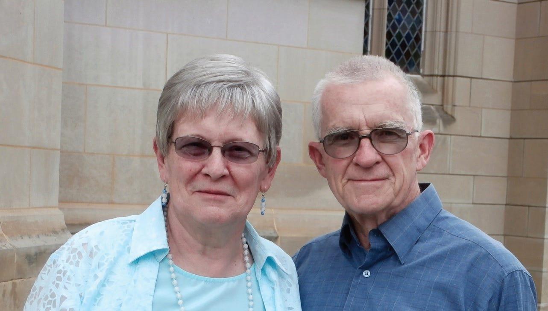 Eloise and Edwin Jordan