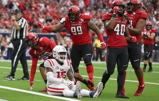 Scottie phillips records 204 rushing yards in his ole miss for John parker motors houston